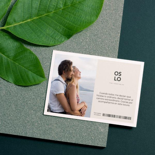 Personaliza tu tarjeta de regalo